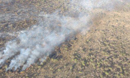 El fuego está contenido en el norte provincial