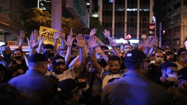 Miles de manifestantes protestan contra Netanyahu en Israel
