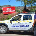 Clausura de loteos no habilitados en Juana Koslay