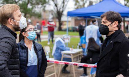 Kicillof: «Daremos un subsidio a pacientes leves que se aíslen fuera de su hogar»