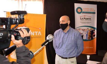 """La Municipalidad lanzó el plan de formación """"La Punta crece con más trabajo"""""""