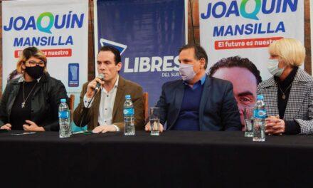Joaquín Mansilla será precandidato a diputado nacional