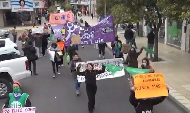 #NiUnaMenos: Nueva marcha exigiendo políticas públicas en violencia de genero