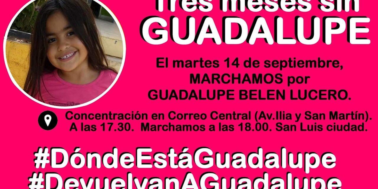 Tres meses sin Guadalupe Lucero