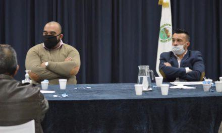 El Frente Sindical se reunió con el intendente de Villa Mercedes