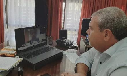 Moriñigo mantuvo reunión con Trotta por el plan de vacunación