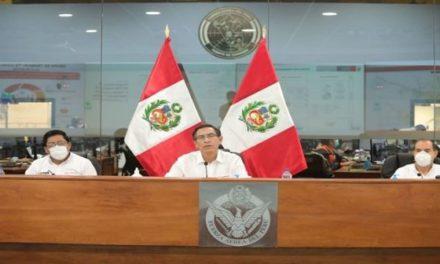 Perú ratifica emergencia por Covid-19 hasta 10 de mayo