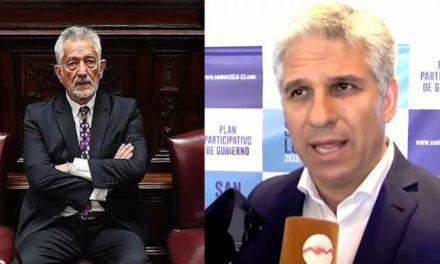 Claudio Poggi disparó una batería de twitter contra Alberto Rodríguez Saá