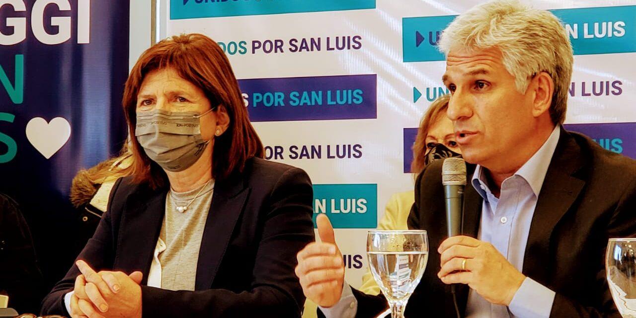 """Claudio Poggi: """"Le tenemos que poner un freno al kirchnerismo nacional y provincial para que no violenten la Constitución"""""""
