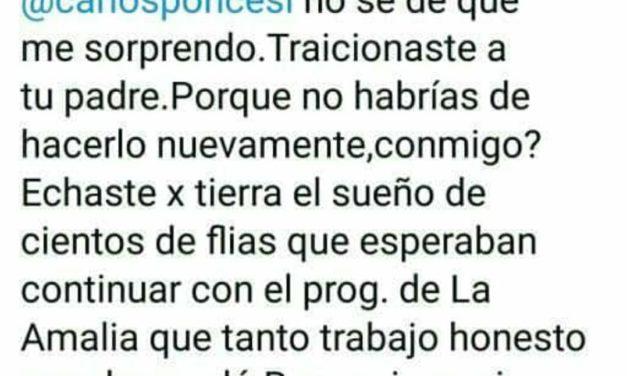 """Enrique Ponce cruzó a su hermano por su propia """"estafa electoral"""""""