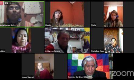 Cuarto conversatorio de comunidades originarias