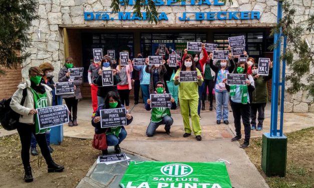Siguen las asambleas por el pago del bono a los trabajadores de la Salud