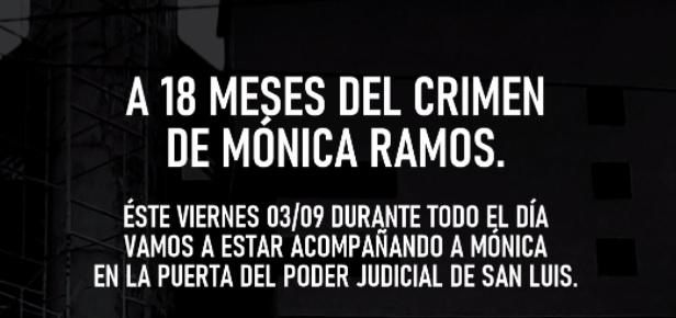 Caso Mónica Ramos: Convocan a un reclamo por celeridad en la causa este viernes