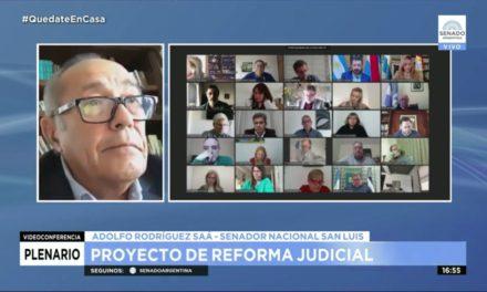 Reforma Judicial: Rodríguez Saá propuso traspaso de competencias de las cámaras federales y plazos de sentencias a los jueces