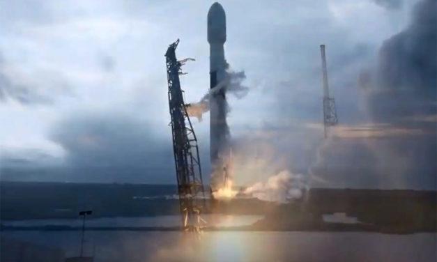 Saocom 1B: despegó el satélite argentino