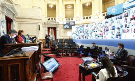 El Senado aprobó los 20 DNU dictados durante la pandemia