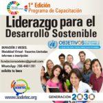Primera Edición Programa de Capacitación de Liderazgo para el Desarrollo Sostenible