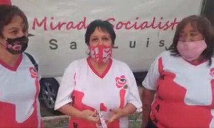 """Mirada Socialista: """"Cuba es un ejemplo en el mundo, lo menos que podemos hacer es apoyarlos"""""""