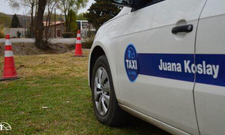 Juana Koslay exceptuó a los taxistas del  100% del pago de tasas