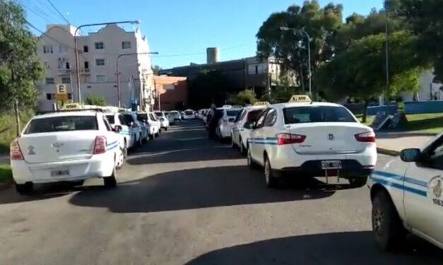 Taxistas reclamaron por la ola de inseguridad en San Luis