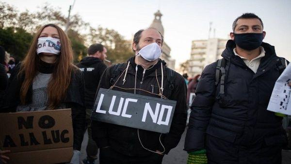 Rechazan en Uruguay aprobación de Ley de Urgente Consideración