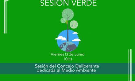 Hoy se realizará la «Sesión Verde»