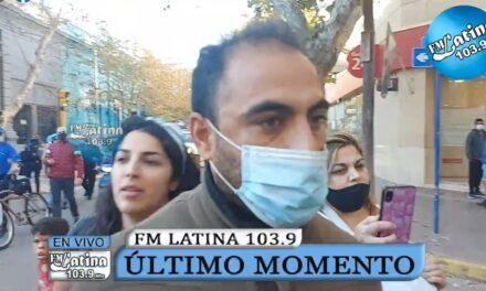 Violentos ataques de anticuarentena a la prensa